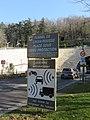 Entrée tunnel de la Croix-Rousse côté Saône - Panneau radar (fév 2019).jpg