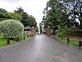 Entrance to Abbey Gate College, Saighton (geograph 3060287).jpg