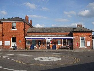 Epping tube station - Station entrance