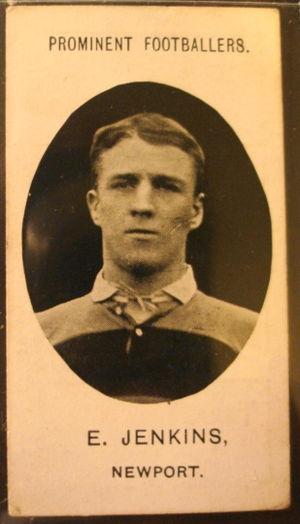 Ernie Jenkins - Jenkins in Newport jersey