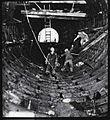Escalator shaft under construction (5963094007).jpg