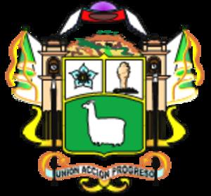 Melgar Province - Image: Escudo ayaviri