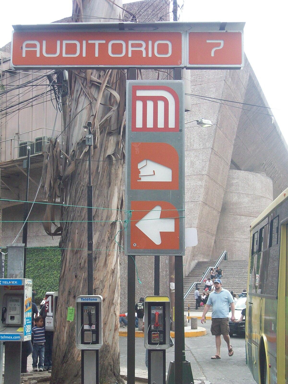 Metro Auditorio Wikidata