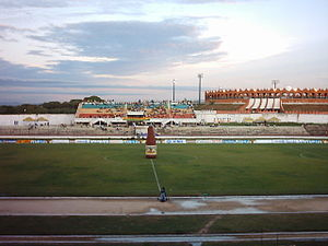 Athletics at the 2006 Central American and Caribbean Games - Image: Estadio cartagena