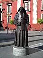 Estatua de Santa Ángela de la Cruz, Umbrete.JPG