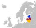 Estonia, Latvia & Lithuania in Northern Europe.png