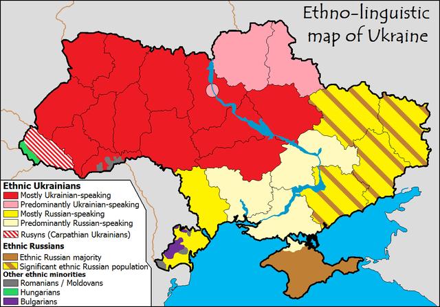Conflicto interno ucraniano 640px-Ethnolingusitic_map_of_ukraine