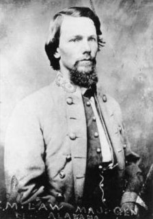 Evander M. Law Confederate Army general