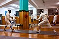 Evening training at Athenaikos Fencing Club with fencers from three different clubs.jpg