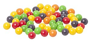 English: Everlasting Gobstoppers candy made by...