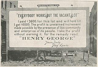Georgism Economic philosophy