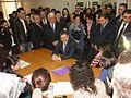 Ex-Prime Minister Tigran Sargsyan with ATC Students.JPG