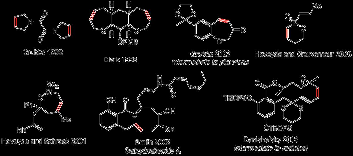 olefin ring metathesis