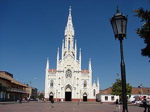 Ubaté - Image: Exterior Basílica Menor. Ubaté Cund. A Pulido Villamarín