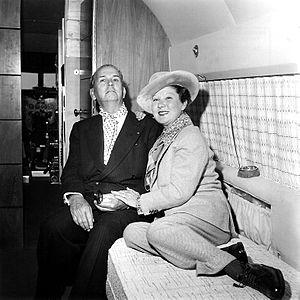 Félix Benítez Rexach - Félix Bénitez Rexach with his wife