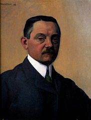 Self-portrait (Félix Vallotton, 1908)