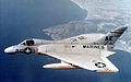 F4D-1 Skyray of VMF-115 in flight in 1957.jpg