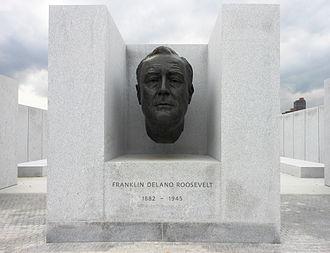 Franklin D. Roosevelt Four Freedoms Park - Image: FDR Statue Roosevelt Island