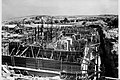 "FOUNDATION LAYING FOR THE Y.M.C.A. BUILDING, IN JERUSALEM. בניית יסודות בניין ימק""א בירושלים.D635-056.jpg"