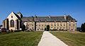 Façade de l'abbaye Notre-Dame, Paimpont, France.jpg