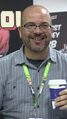 Fabian Nicieza in the Artists' Corner at New York Comic Con 2015.png