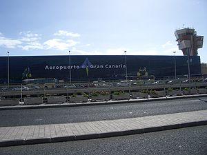 Fachada Aeropuerto de Gran Canaria