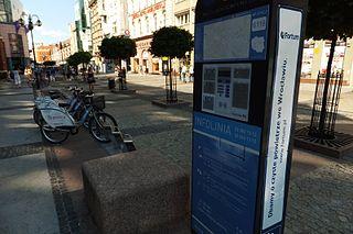 Fahrradverleihsystem in Breslau (Wrocław) (Bild: Kai Kowalewski / Wikipedia)