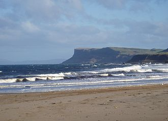 County Antrim - Fair Head seen from Ballycastle