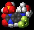 Fanapanel molecule spacefill.png