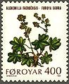 Faroe stamp 046 mountain flowers (alchimella faeroensis).jpg