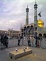 Fatimah Ma'sumah Shrine قم، حرم فاطمه معصومه دختر موسی ابن جعفر امام هفتم شیعیان 16.jpg