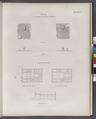 Fayyûm)- Plan der pyramidalen Unterbauten von Biahmu; Tempel von Kasr Kerun (Qasr Qarun) (NYPL b14291191-37554).tiff