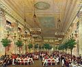 Feast at the Tuileries Palace for the wedding of Leopold I of Belgium and Louise d'Orléans 1832.jpg