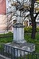 Fehérgyarmat, templomkerti Nepomuki Szent János-szobor 2021 03.jpg