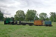 Feldbahnzug im Rebstockpark