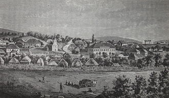 Unirea, Alba - Unirea, then Felvinc/Vinţu de Sus, in the 19th century