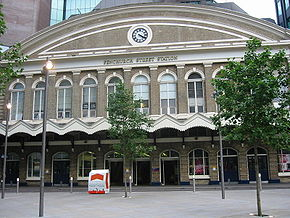Fenchurch Street stasjon    National Rail