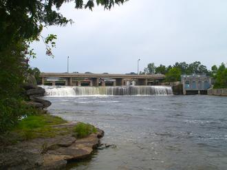 Fenelon Falls - The eponymous falls