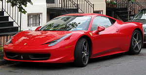 Ferrari 458 Italia photographed in Washington,...