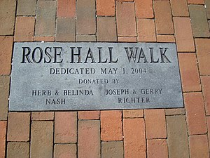 Ferry Plantation House - Image: Ferry Plantation House Rose Hall Walk Marker