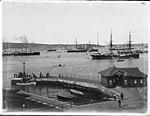 Ferry wharf on Sydney Harbour (3072376751).jpg