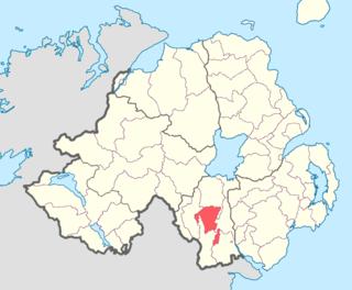 Fews Lower Place in Northern Ireland, United Kingdom