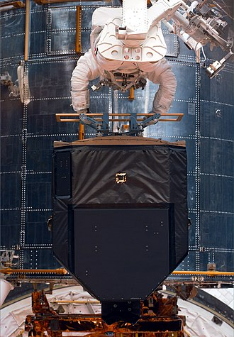 Fine Guidance Sensor (HST) - A fine guidance sensors in space on STS Servicing Mission 2 in 1997