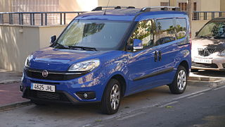 Fiat Doblò panel van and leisure activity vehicle produced by Italian automaker Fiat since 2000