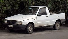 Fiat Fiorino II pickup przed liftingiem