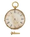 Fickur med urnyckel, 1840-tal - Hallwylska museet - 110599.tif