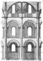 Fig 16 -Elev of one double bay of the Abbaye-aux-Hommes.png