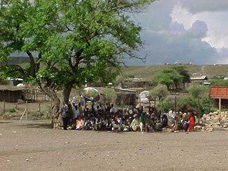 Fiq, Ethiopia - Central Market of Fiq, Ethiopia
