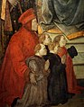 Filippo lippi, madonna del ceppo, 1453-52, da pal. datini, 03 francesco datini e i committenti.jpg