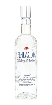 Finlandia Vodka, 750ml bottle.